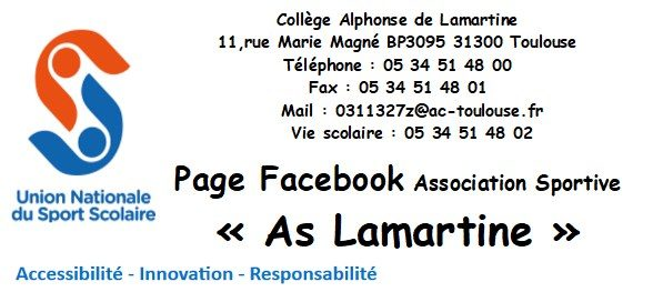 Page Facebook : As Lamartine
