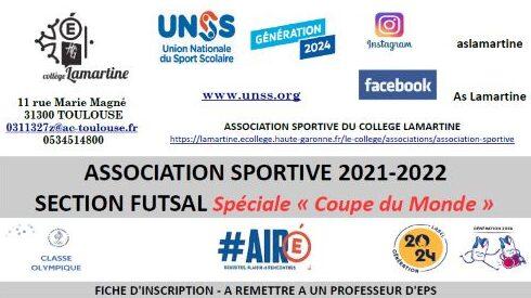 Fiche d'inscription AS 2021-2022 Section Futsal Spéciale Coupe du Monde.jpeg